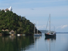 Moored at Busuanga Yacht Club