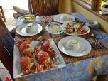 Seafood Feast at Ann & Mike's
