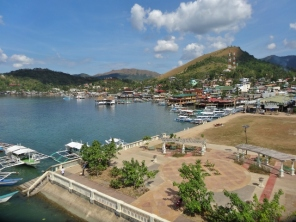 View of Coron Town