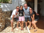 With Dive Guide Elsie and Bruce