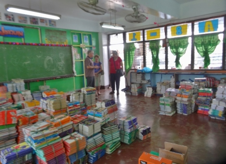 Children International Textbooks Ready for Pickup