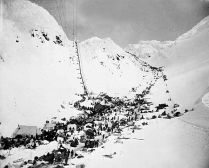 Chilkoot Pass to The Klondike Gold Rush, circa 1898
