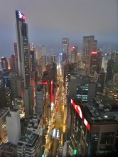 View from Wooloomooloo Rooftop Deck in Wan Chai