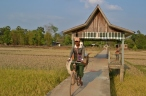 Bridge to La Kha Na Village