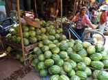 Hpa An Market, Watermelons