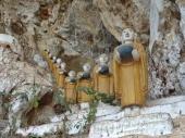 Kaw Ka Thaung Cave Monks