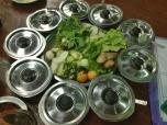 Typical Burmese Accompaniments, San Ma Tau Restaurant
