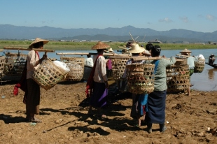 At One of the Markets (Inle Lake, 2005)