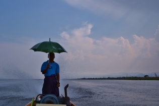 Driving in the Rain (Inle Lake)