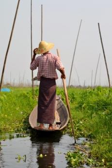 Inle Lake Farmer