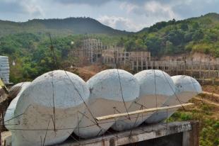 Larger Buddha Under Construction