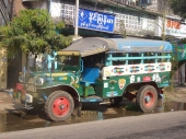 Older Yangon Bus