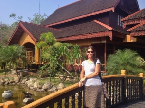 Sandra at Hupin KD Hotel (Inle Lake)