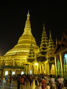 Shwedagon After Dark