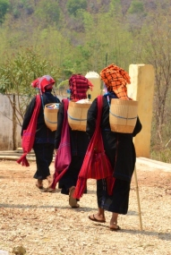 Traditional Shan Attire (Inle Lake)