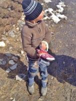 Xinaliq Boy in Winter