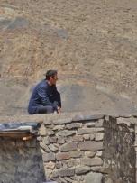 Xinaliq Man on Roof