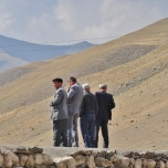 Xinaliq Men Enjoying the View