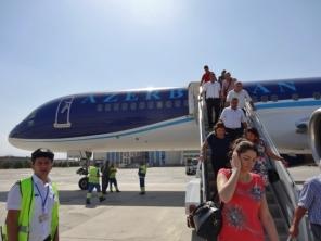 Arriving in Naxcivan