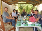 Breakfast with Medjid's Family