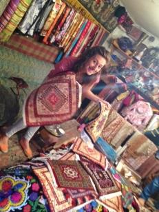 Carpet Shopping with Lauren