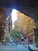 From Inside Asabu Kahf Caves