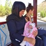 Grandma and Newborn