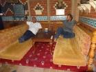 Having Tea in the Old Hamam