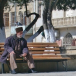 Man in Baku