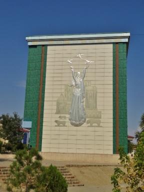 Mural in Naxcivan City