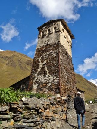 A Walk through Ushguli