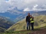 At Davitjari Pass 2676m