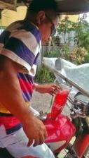 Cherry Coke or Gasoline