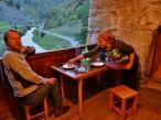 Dining in Shatili