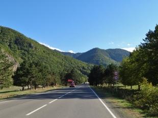 Heading to Borjomi