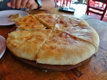 Khachapuri (cheese bread)