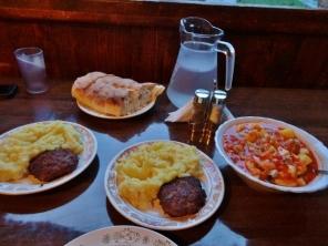 Mountain Food in Shatili