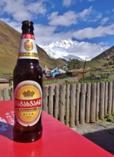 Natakhtari Beer in Ushguli