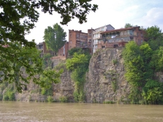 Precariously Perched Along the Mtkvari River