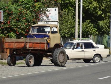 UAZ Farm Truck