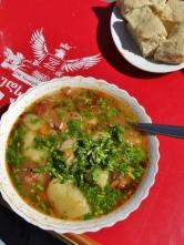 Ushguli-style Beef Soup