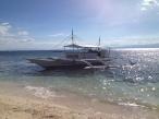 Neptune's Dive Boat in Moalboal