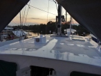 Pilothouse Roof Ready for Anti-skid