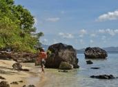 Lagen Island Beach Walk