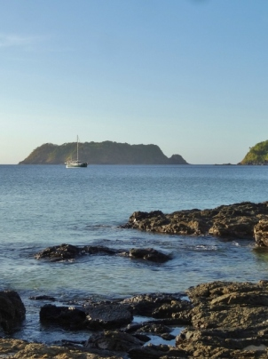 MOKEN at Anchor in Japilao Bay