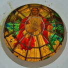 Stained Glass at Matinloc Shrine