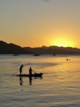 Sunset at Coron