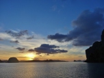 Sunset at Lagen Island