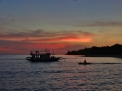 Sunset at North Pandan Island