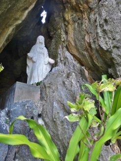 Virgin Mary in a Cave at Matinloc Shrine